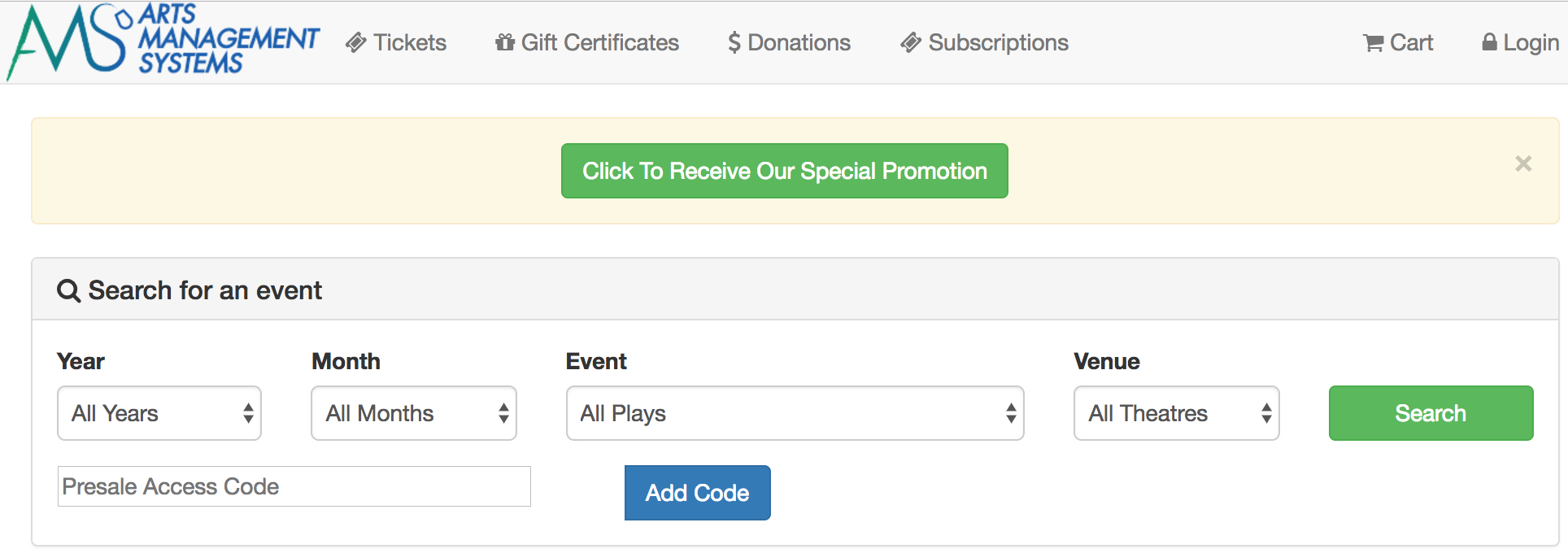 Adding Coupon Button