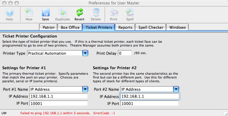 how to set a ip address for a printer