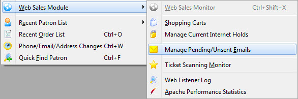 Manage Pending/Unsent Emails